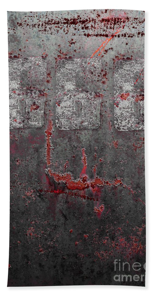 666 Hand Towel featuring the photograph Heavy Metal by Margie Hurwich