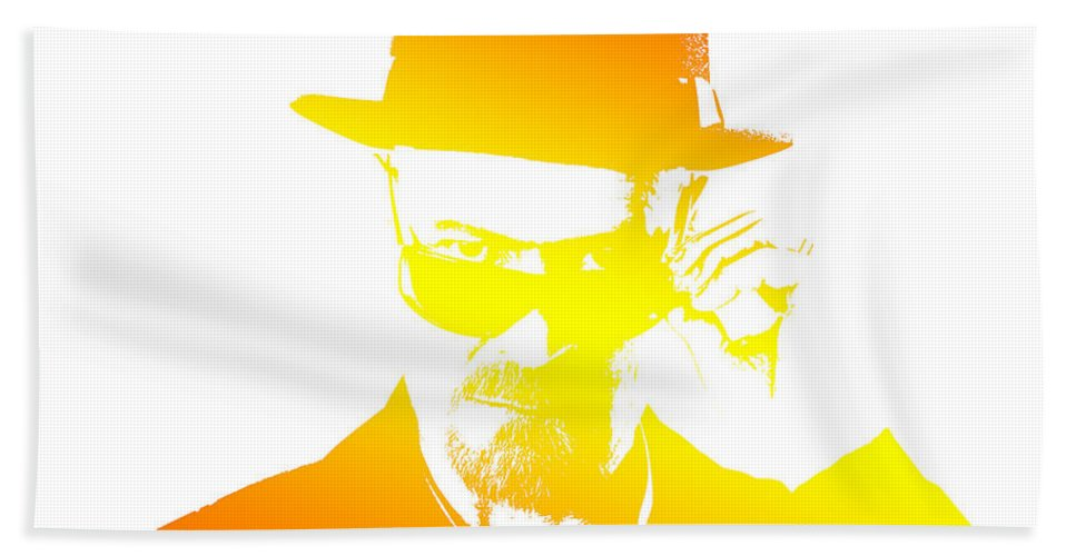 Breaking Bad Bath Sheet featuring the photograph Heisenberg - 5 by Chris Smith