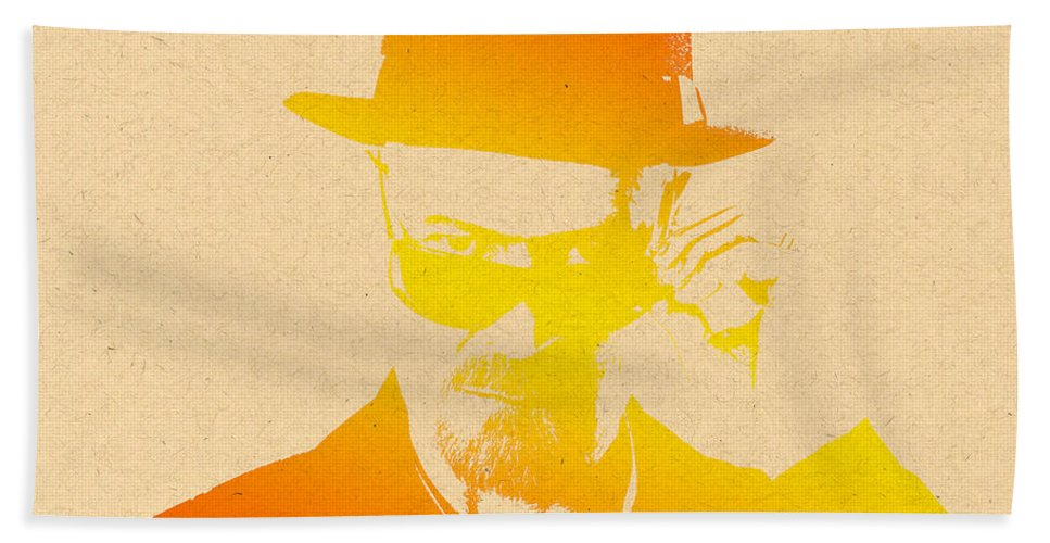 Breaking Bad Bath Sheet featuring the photograph Heisenberg - 6 by Chris Smith