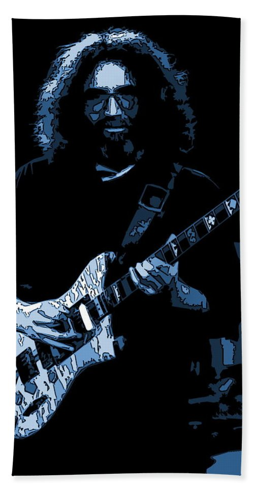 Jerry Garcia Bath Sheet featuring the photograph Help On The Way 2 by Ben Upham
