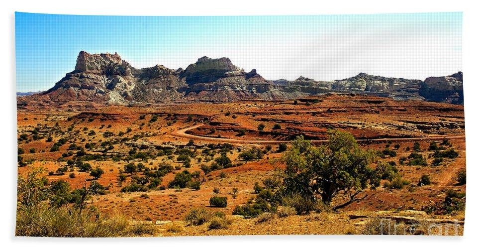 Landscape Bath Sheet featuring the photograph High Desert View by Robert Bales