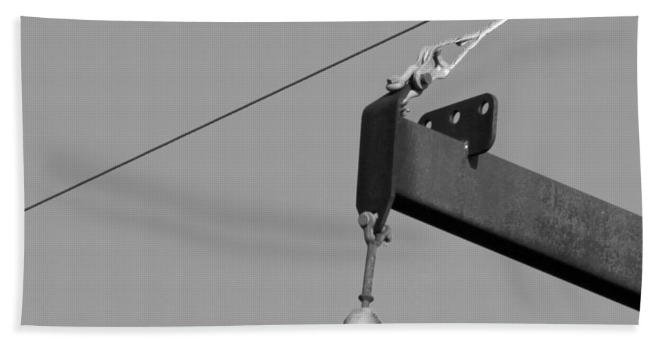 Power Bath Sheet featuring the photograph High Power Line - 7 by Kenny Glotfelty