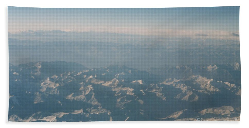 First Star Hand Towel featuring the photograph Himalayas 2 by First Star Art