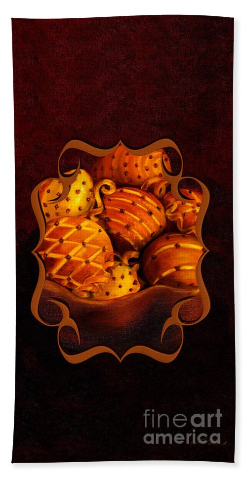 Bowl Hand Towel featuring the photograph Holiday Citrus Bowl Iphone Case by Iris Richardson
