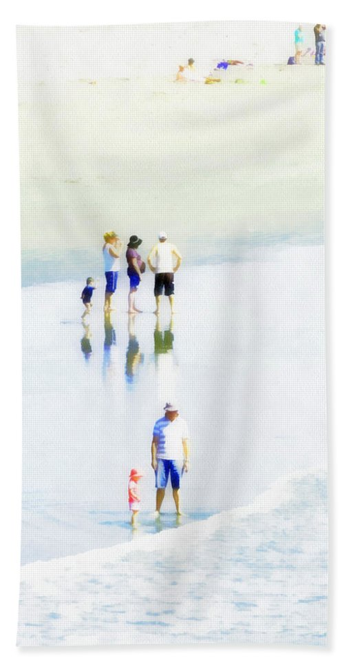 High Key Hand Towel featuring the photograph Holiday Memories by Steve Taylor