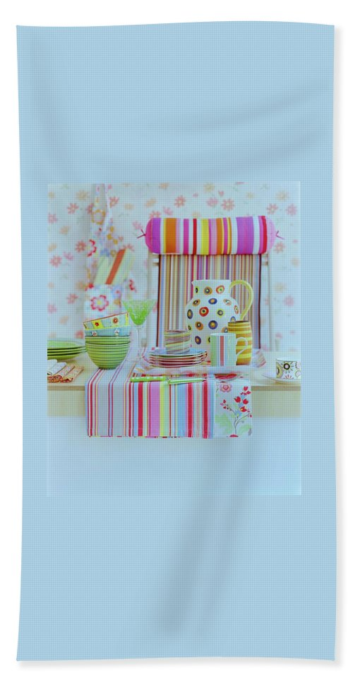 Kitchen Bath Towel featuring the photograph Home Accessories by Romulo Yanes