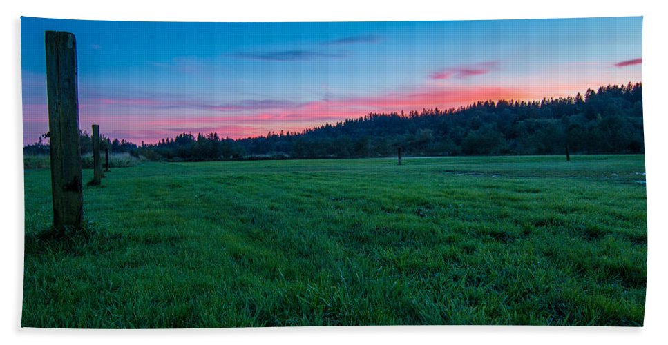 Mill Creek Hand Towel featuring the photograph Home by Ryan McGinnis