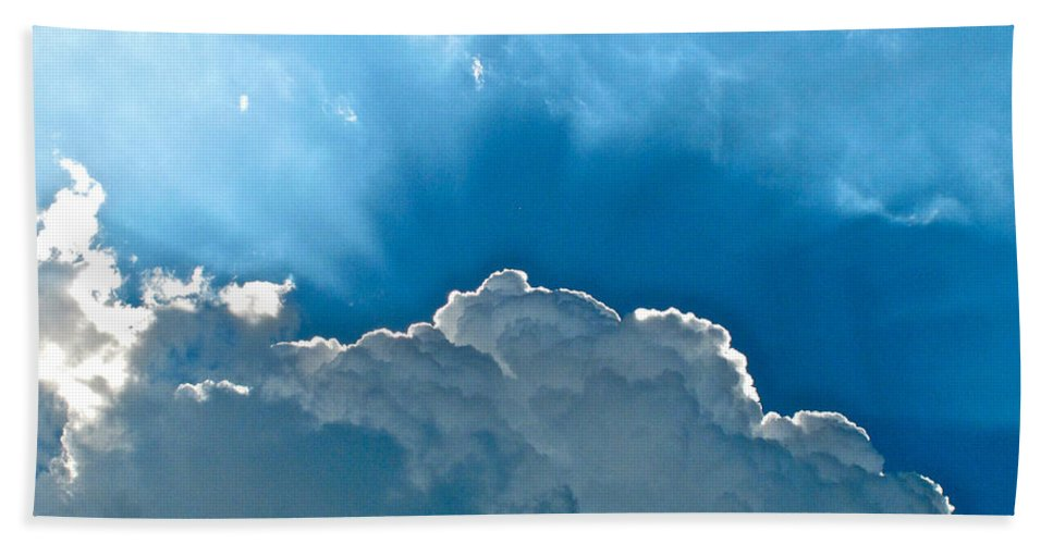 Cloud Hand Towel featuring the photograph Hot Italian Clouds by Lexi Heft