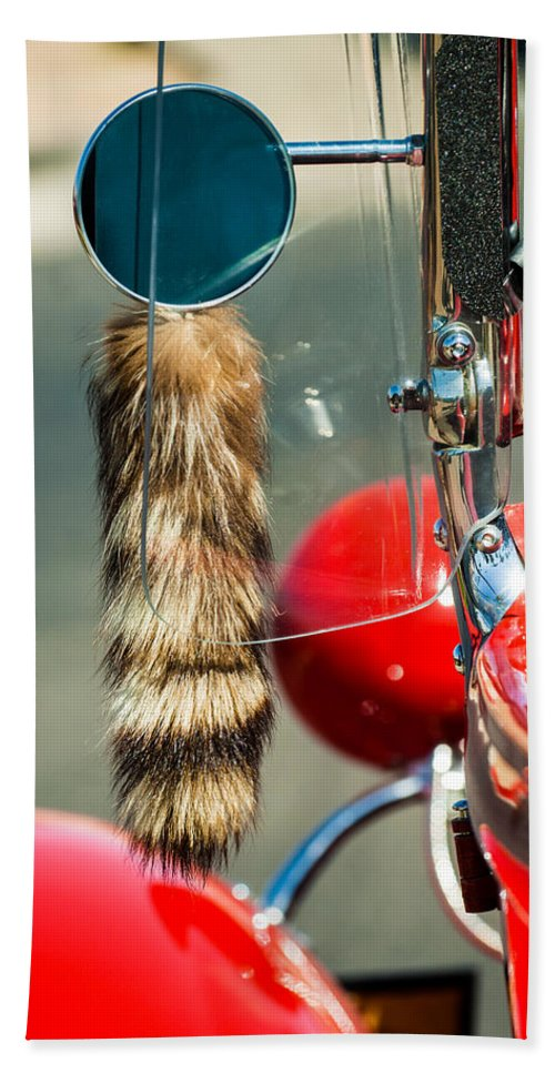 Hot Rod Bath Sheet featuring the photograph Hot Rod Coon's Tail by Jill Reger