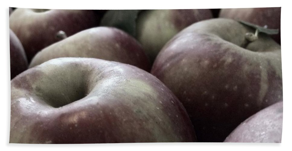 Apple Bath Towel featuring the photograph How Do You Like Them Apples by Photographic Arts And Design Studio