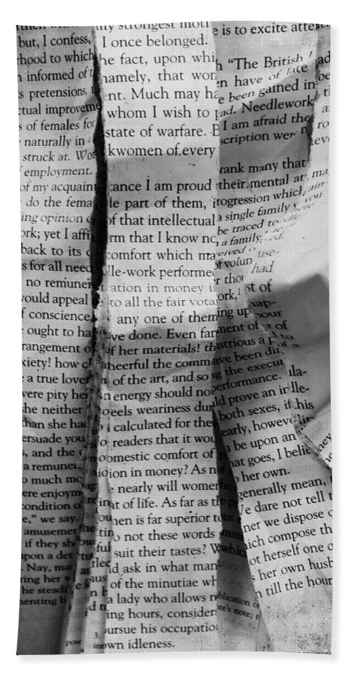Words Bath Sheet featuring the photograph I Am Proud by The Artist Project