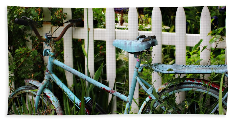 Bicycle Hand Towel featuring the photograph I Want To Ride My Bicycle by Beth Ferris Sale