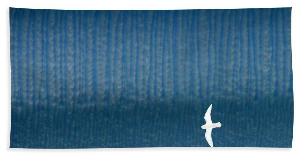 Lesser Snow Petrel Bath Sheet featuring the photograph Icy Angel by Tony Beck