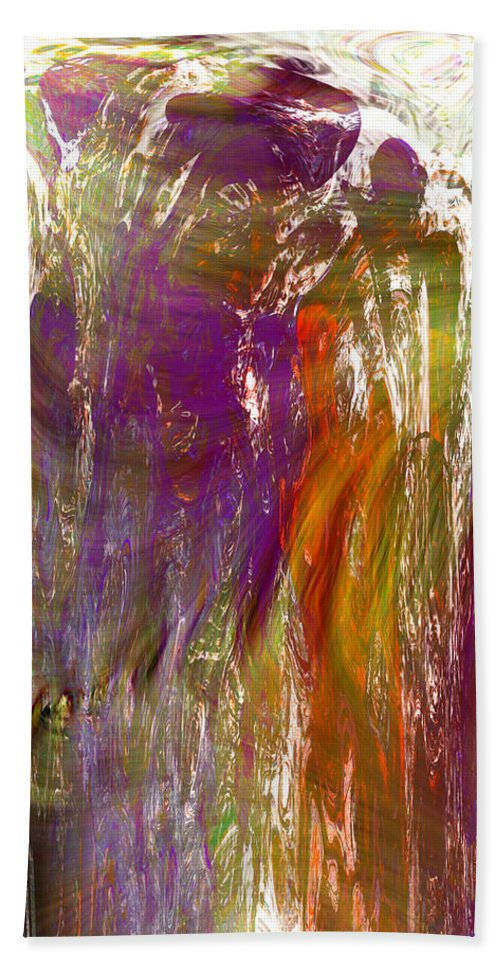 Abstract Hand Towel featuring the digital art If You Doubt Your Dreams In The Daylight by Richard Thomas