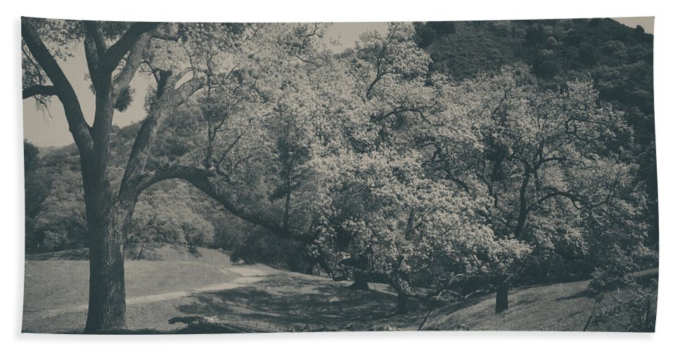 Sunol Regional Wilderness Hand Towel featuring the photograph If You Get Lonely by Laurie Search