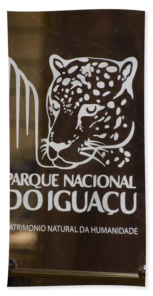 Parquet Nacional Doiguacu Hand Towel featuring the photograph Iguacu National Park - Brazil by Jon Berghoff