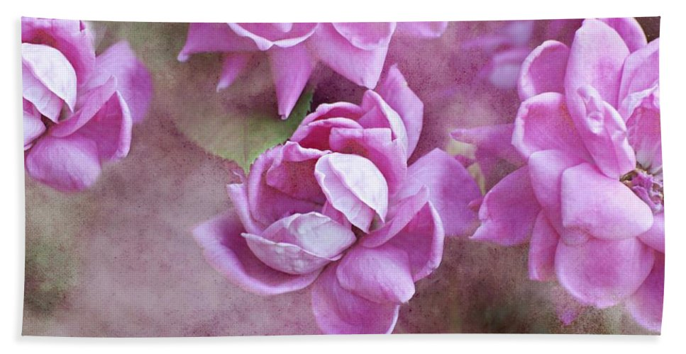 Flowers Hand Towel featuring the photograph In Pink by Diana Angstadt