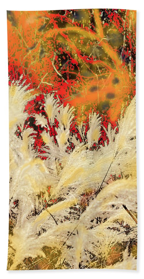 Fall Hand Towel featuring the photograph In The Fall by Ian MacDonald