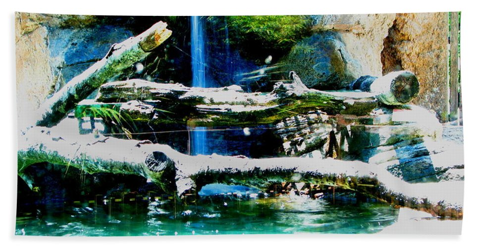 Patzer Bath Sheet featuring the photograph Indoor Nature by Greg Patzer