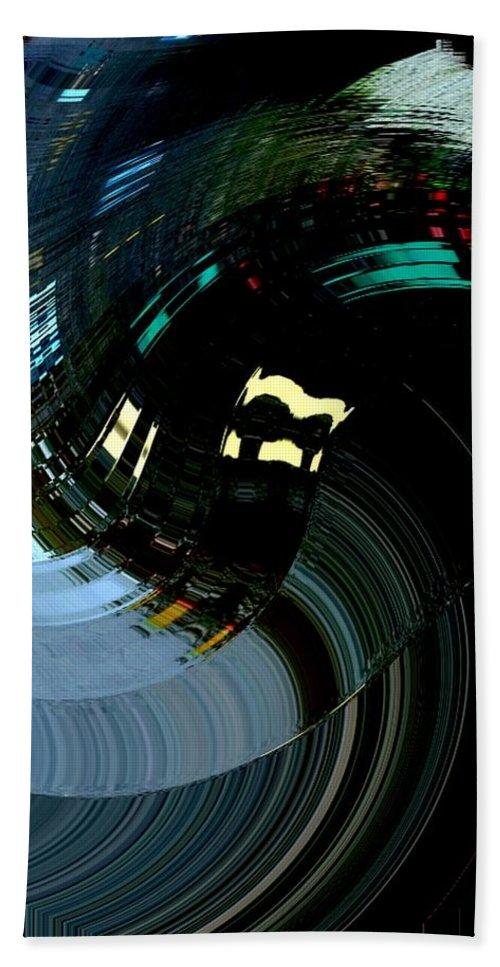 Modern Art Bath Sheet featuring the photograph Infinity Dancer 3 by Cj Carroll
