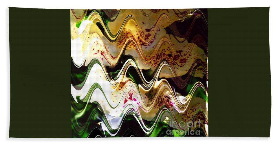 Digital Image Bath Sheet featuring the digital art Inspiration by Yael VanGruber