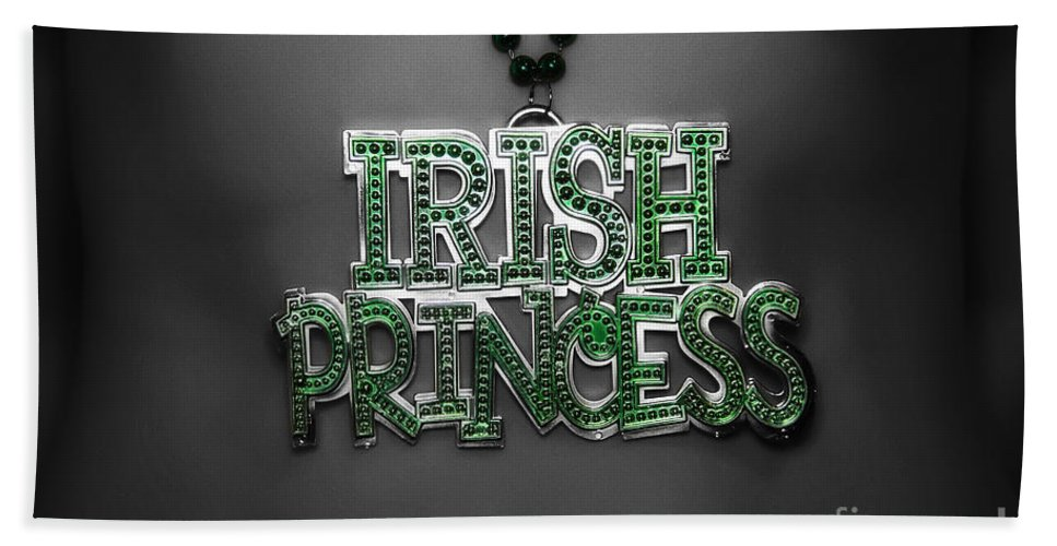 Irish Princess Hand Towel featuring the photograph Irish Princess by Rick Kuperberg Sr