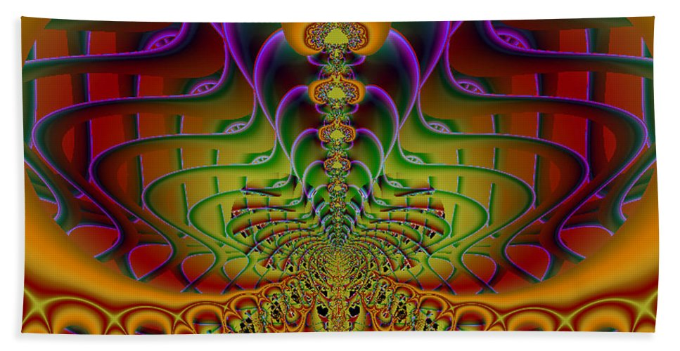 2-dimensional Hand Towel featuring the digital art Ive Got Soul by Dana Haynes
