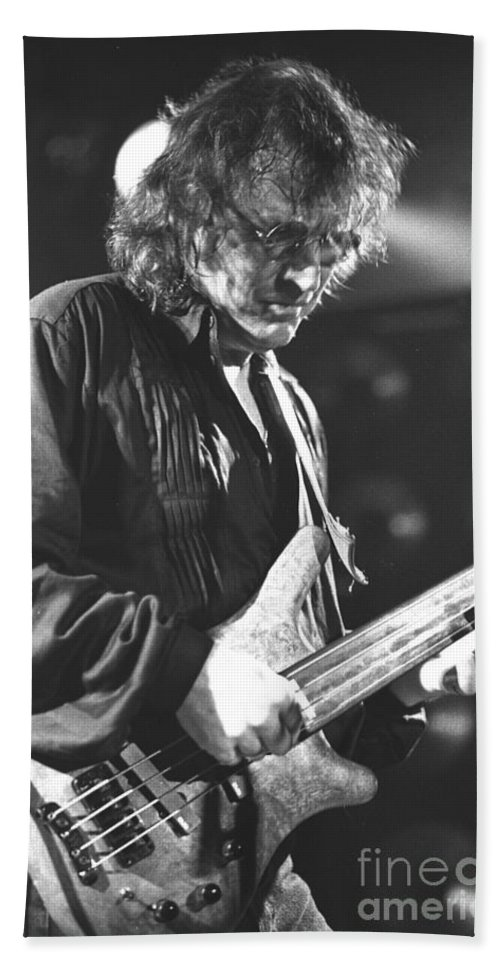 Jack Bruce Bath Sheet featuring the photograph Jack Bruce by Concert Photos