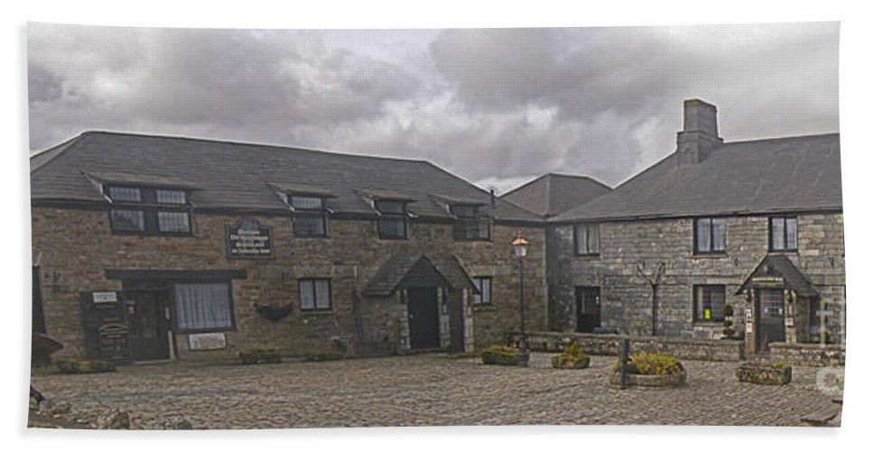 Jamaica Inn Bath Sheet featuring the photograph Jamaica Inn Bodmin Moor by Terri Waters