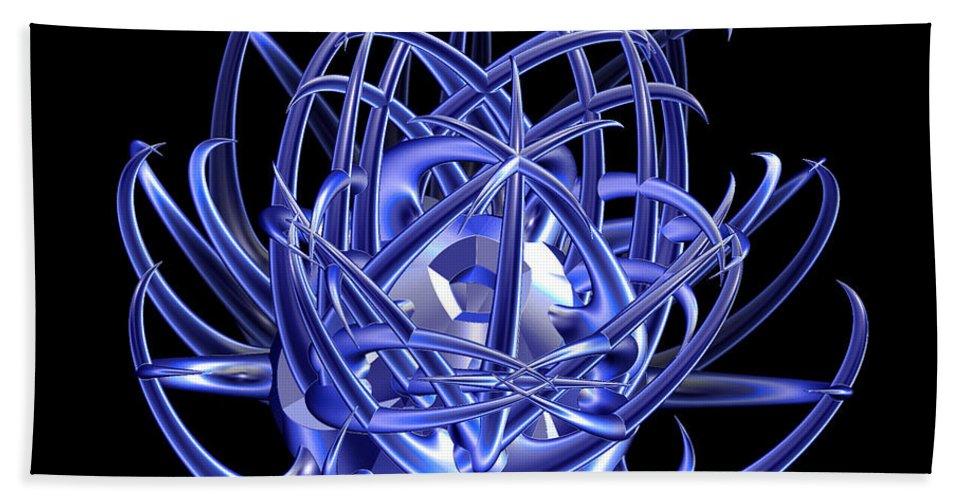 First Star Art Bath Sheet featuring the photograph Jammer Blue Star 001 by First Star Art