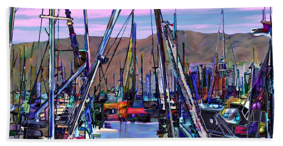 Harbors Hand Towel featuring the photograph Jammin At Twilight by Kurt Van Wagner