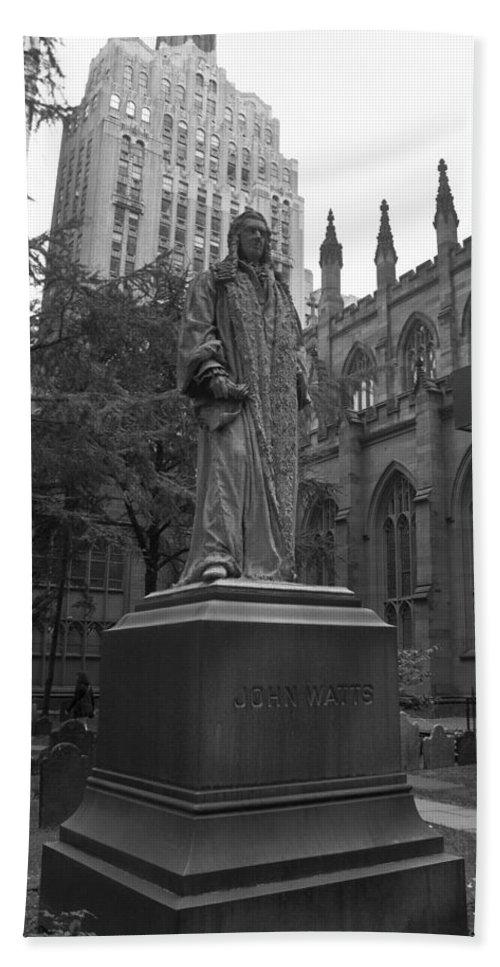 John Watts Bath Sheet featuring the photograph John Watts Bw by Teresa Mucha