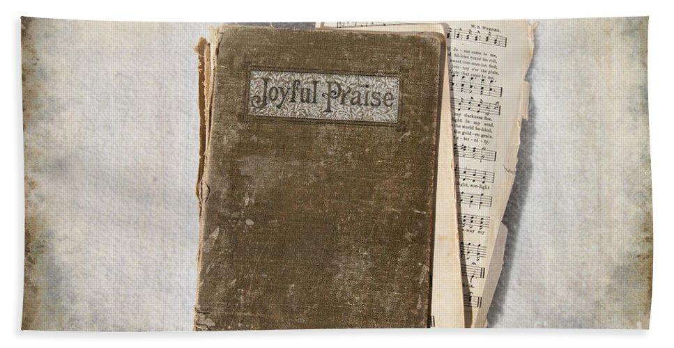 Hymnal Hand Towel featuring the photograph Joyful Praise by David Arment