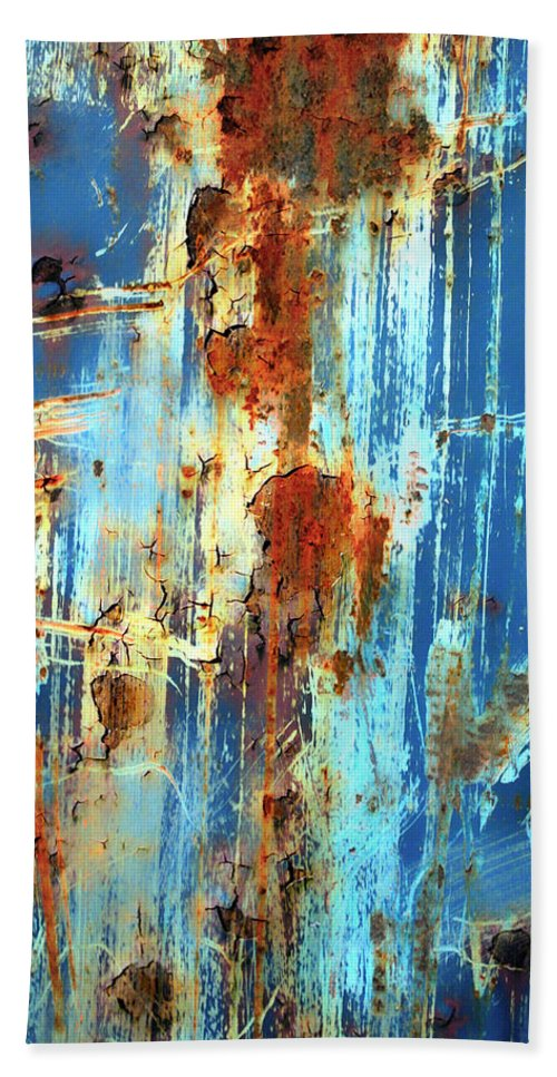 Abstract Art Bath Sheet featuring the photograph Jungle Rain by The Artist Project
