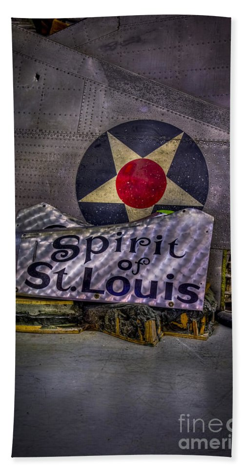 Airplane Parts Hand Towel featuring the photograph Just A Few Old Parts by Marvin Spates