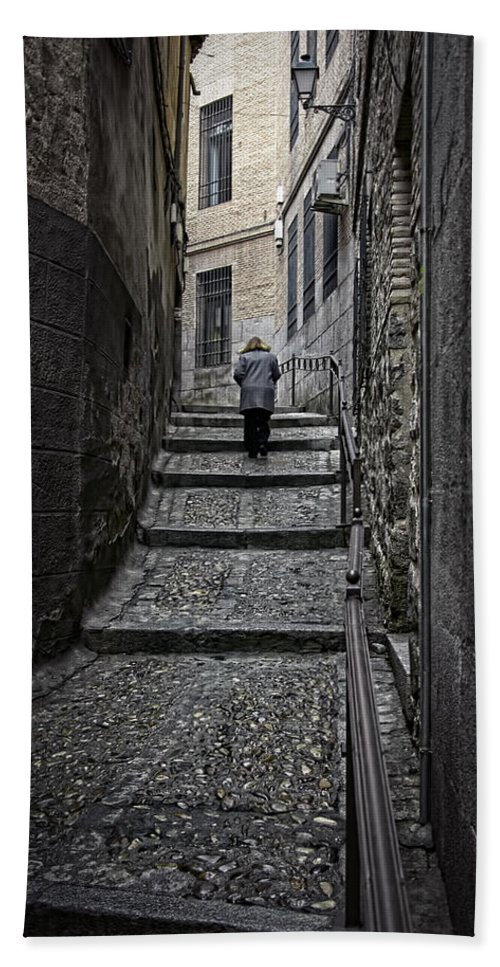 Toledo Hand Towel featuring the photograph Just Another Day by Joan Carroll
