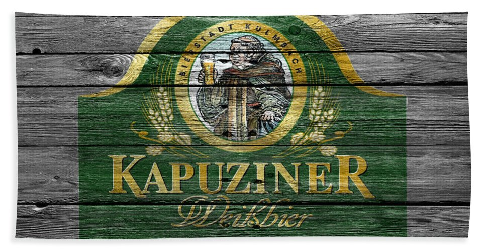 Kapuziner Hand Towel featuring the photograph Kapuziner by Joe Hamilton