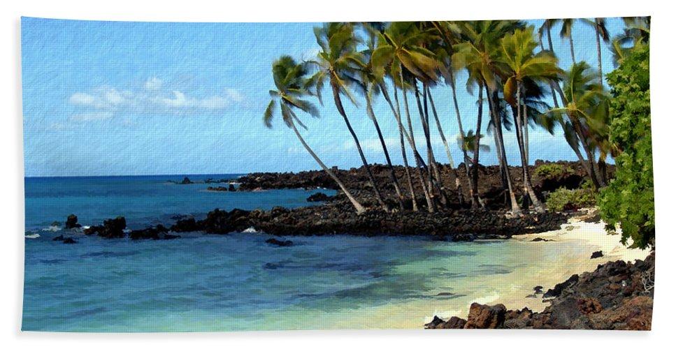 Hawaii Hand Towel featuring the photograph Kekaha Kai II by Kurt Van Wagner