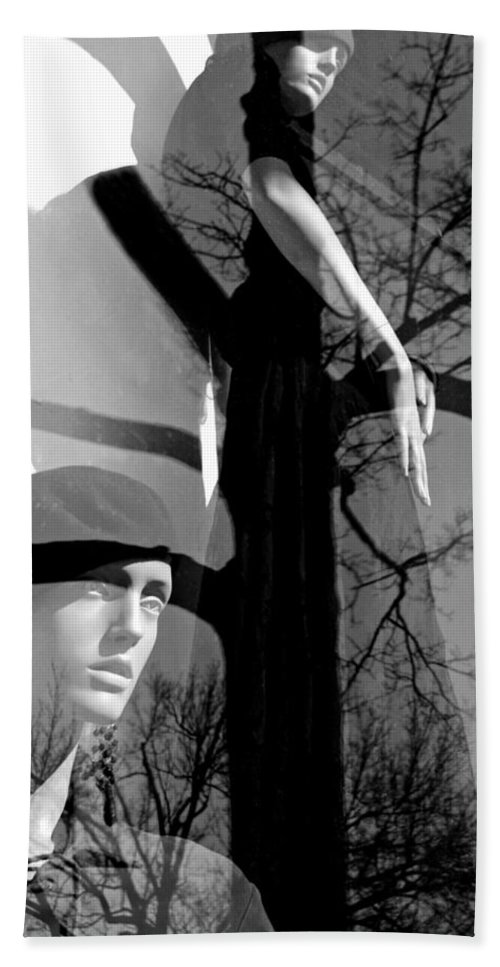 Mannequins Hand Towel featuring the photograph Kindling by Diana Angstadt