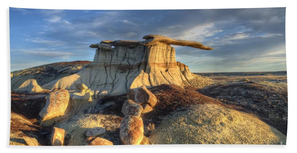 King Of Wings Hand Towel featuring the photograph King Of Wings 3 by Bob Christopher