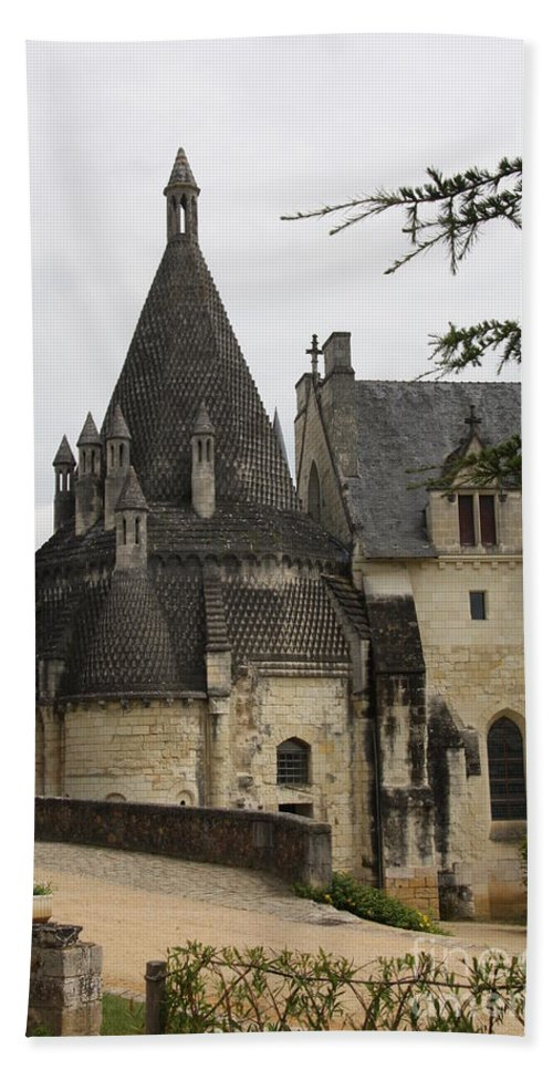 Kitchen Hand Towel featuring the photograph Kitchenbuilding - Fontevraud by Christiane Schulze Art And Photography