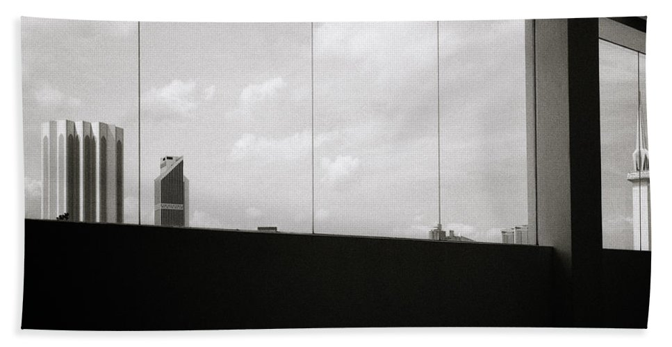 Asia Bath Sheet featuring the photograph Kuala Lumpur by Shaun Higson