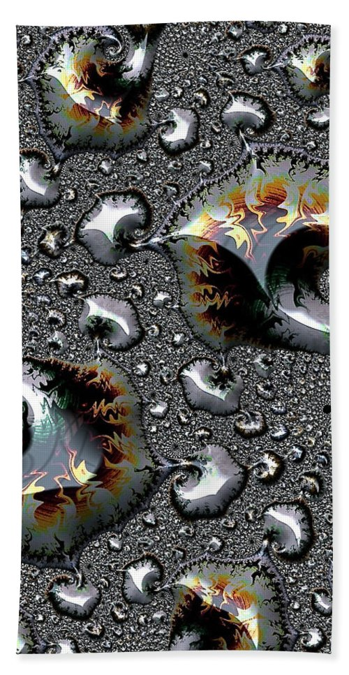 abstract Photo christmas Gifts abstract Art fractal Abstract abstract Art Abstract phone Cases greeting Cardsemotionally Labile chemical Reaction Hand Towel featuring the photograph Labile - Cards And Phone Cases by Bill Owen