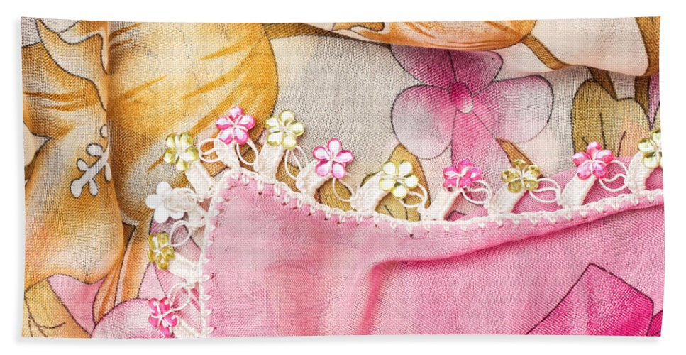 Accessory Hand Towel featuring the photograph Ladies' Scarf by Tom Gowanlock