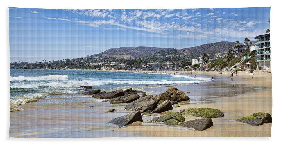 Laguna Bath Sheet featuring the photograph Laguna Beach by Kelley King