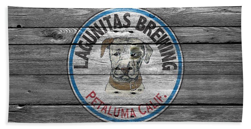 Lagunitas Brewing Hand Towel featuring the photograph Lagunitas Brewing by Joe Hamilton