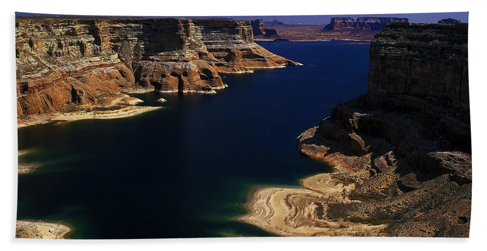 Lake Hand Towel featuring the photograph Lake 22 by Ingrid Smith-Johnsen
