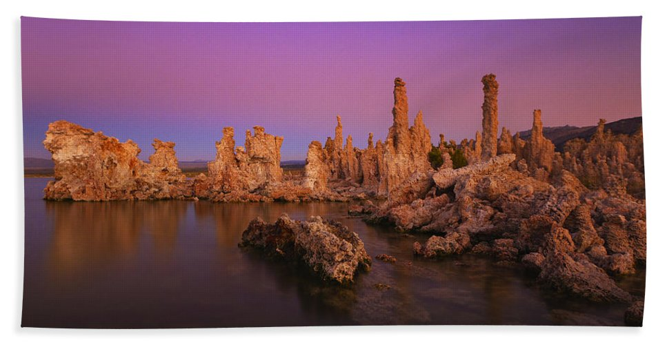 Lake Hand Towel featuring the photograph Lake 11 by Ingrid Smith-Johnsen