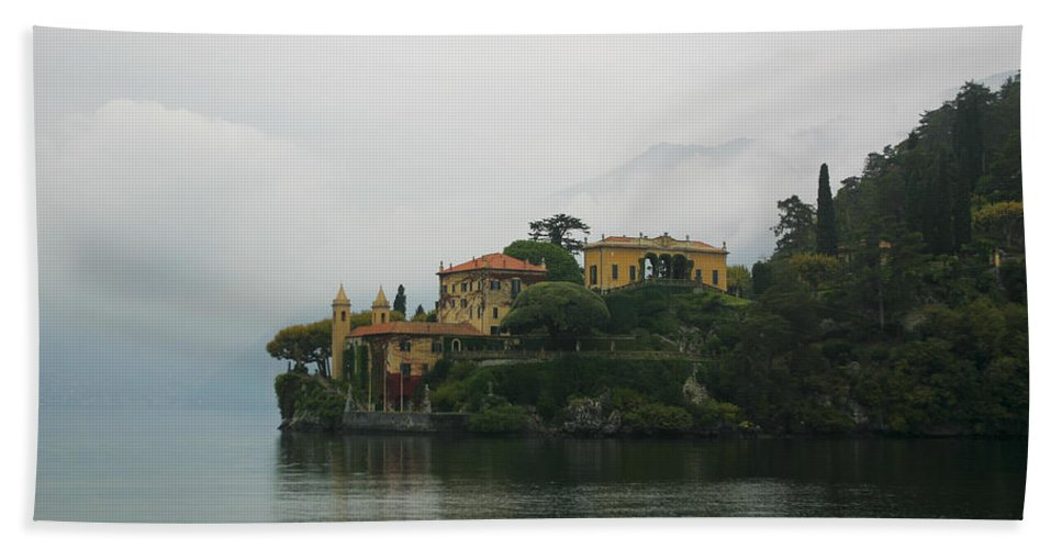 Italy Hand Towel featuring the photograph Lake Como No. 1 by Belinda Greb