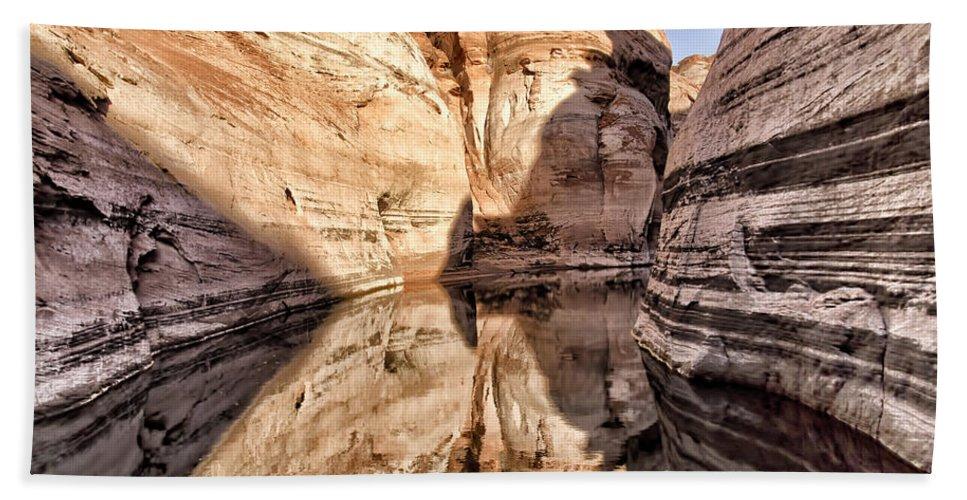 Lake Powell Bath Sheet featuring the photograph Lake Powell - Page Az by Jon Berghoff